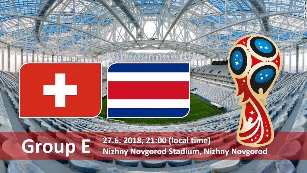 Switzerland Vs Costa Rica FIFA Betting Tips & Odds